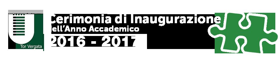 Cerimonia di inaugurazione dell'Anno Accademionco 2015 – 2016