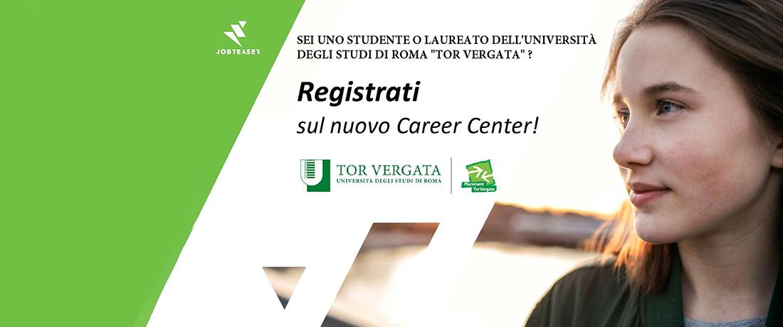 Istruzioni per studenti e laureati per l'iscrizione al nuovo Career Center con migliaia di offerte in più!